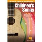 Children's Songs -    Various (Ukulele) Ukulele Chord Songbook - Hal Leonard. Softcover Book
