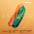 D'Addario Ascenté Viola D String Extra-Extra-Short Scale Medium Tension