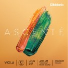 D'Addario Ascenté Viola C String Long Scale Medium Tension