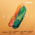 D'Addario Ascenté Viola C String Extra-Extra-Short Scale Medium Tension