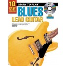 10 Easy Lessons Learn To Play Blues Lead Guitar Book/CD/DVD