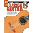 10 Easy Lessons Learn To Play Classical Guitar  Book/CD/DVD