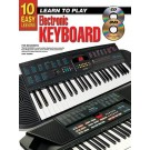10 Easy Lessons Learn To Play Keyboard Book/CD/DVD