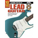 10 Easy Lessons Learn To Play Lead Guitar Book/CD/DVD