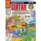 10 Easy Lessons Learn To Play Guitar for the Young Beginner Book/CD/DVD