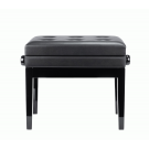 Beale Piano Bench Plush Cushion with Storage