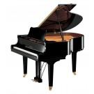 Yamaha GC1MPE Grand Piano with Bench - Polished Ebony