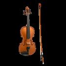 Stentor Harlequin Series 1/2 Half Size Violin in Metallic Bronze