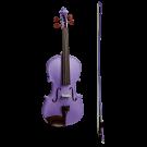 Stentor Harlequin Series 3/4 Size Violin in Metallic Deep Purple