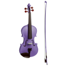 Stentor Harlequin Series 4/4 Full Size Violin in Metallic Deep Purple