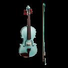 Stentor Harlequin Series 3/4 Size Violin in Metallic Light Blue