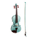 Stentor Harlequin Series 1/2 Half Size Violin in Metallic Light Blue