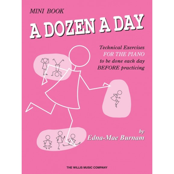 A Dozen a Day Mini Book -  Edna Mae Burnam   (Piano) A Dozen a Day - Willis Music. Softcover Book