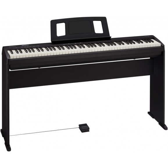 Roland FP-10BKS Digital Piano Bundle with KSC-FP10 Stand
